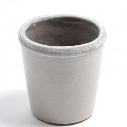 Petit pot bord gris