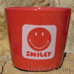 Petit pot Smiley Rouge 2