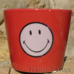 Petit pot Smiley Rouge 3