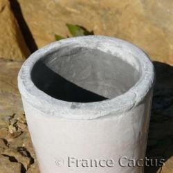 Petit pot bord gris 3